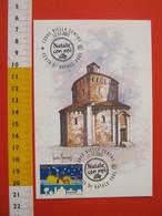 A.09 ITALIA ANNULLO - 2001 BIELLA FESTA DI NATALE CON NOI MAXIMUM BATTISTERO - Natale
