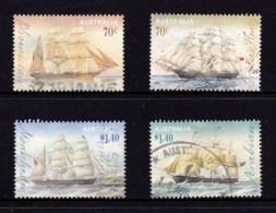 Australia 2015 Clipper Ships Set Of 4 Used - - 2010-... Elizabeth II