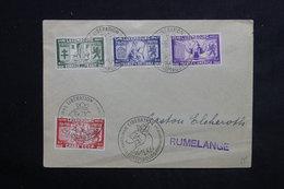 LUXEMBOURG - Série De La Libération Du Territoire En 1945 Sur Enveloppe , Cachet Commémoratif - L 23125 - Luxemburg
