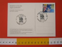 A.09 ITALIA ANNULLO - 2001 POSTUA VERCELLI FESTA DI NATALE PRESEPE PRESEPIO STELLA COMETA - Natale