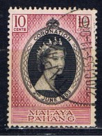 MAL Malaya Pahang1953 Mi 64 Elisabeth II. - Pahang