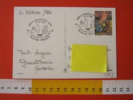 A.09 ITALIA ANNULLO - 1994 MAGGIORA NOVARA FESTA DI NATALE PRESEPE PRESEPIO LA FAMIGLIA - Natale