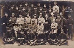 CP Photo :  Militaires - Abri Du Soldat - Limoges - 1918 - Guerre, Militaire