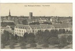 Carte Postale Ancienne Ploërmel - Vue Générale - Ploërmel