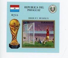 Paraguay 1973-Coupe Du Monde De Football En Allemagne-Goal-MI B207*** - Coupe Du Monde