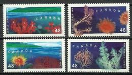Canada 2002 Mi 2049-2052 MNH ( ZS1 CND2049-2052dav38A ) - Meereswelt