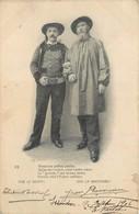 CPA 36 Indre Issoudun 1906 Vive Le Berry La Bretagne Théodore Botrel Et Jean Rameau - Issoudun