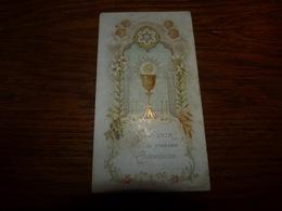 Souvenir Communion Germaine Dorsimont Philippeville 1908 - Communion