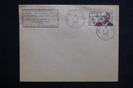 T.A.A.F. - Cachet Mission D 'installation En Décembre 1961 Sur Enveloppe, Oblitération Crozet 1962 Sur Charcot - L 23130 - Terres Australes Et Antarctiques Françaises (TAAF)
