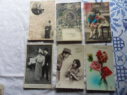 LOT 50 CPA FANTAISIE-Tous Les Scans Disponibles - Cartes Postales