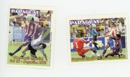 Paraguay 2001-Championnat Junior En Argentine-MI 4847/8***MNH - Wereldkampioenschap