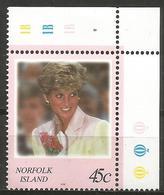 Norfolk Island - 1998 Princess Diana 45c MNH ** - Norfolk Island