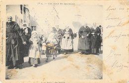 Une Noce En Bretagne - Collection E. Mary-Rousselière - Carte Dos Simple 1906 - Noces