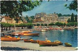 OUCHY-LAUSANNE Le Port Et Le Beau-Rivage - VD Vaud