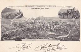 Meurthe-et-Moselle - Société Des Aciéries De Longwy - Vue Générale Des Usines - Longwy