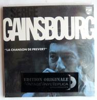 Rare CD EDITION ORIGINALE VINTAGE - VINYL REPLICA - LA CHANSON DE PREVERT SERGE GAINSBOURG - Collector's Editions