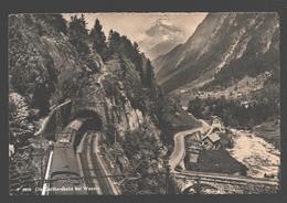 Die Gotthardbahn Bei Wassen - Train / Zug - UR Uri