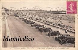 Automobiles. Le Parking De La Plage De PORNICHET En 1934, 1957, 1964 Et 1966 + 1 CP Idem LA BAULE En 19?? - Cartes Postales