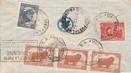 Argentine Lettre Via Aerea AIR FRANCE Cachet SAN ISIDRO B A 1936 Comtesse Guy De St Roman Toulouse Haute Garonne - Argentina