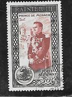TIMBRES OBLITERES DE MONACO DE 1950 N° YVERT PA 49 - Monaco