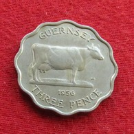 Guernsey 3 Pence 1956 KM# 17 Guernesey - Guernesey