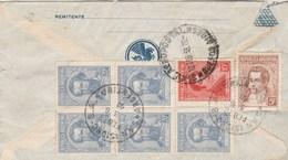 Argentine Lettre Via Aerea AIR FRANCE Buenos Aires 1936 Comtesse Guy De St Roman Toulouse Haute Garonne - Argentina