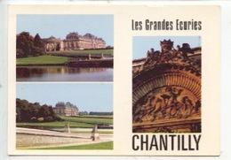 Les Grandes écuries De Chantilly, Et La Porte Saint Denis, Et La Route Du Connétable (détails) - Chantilly