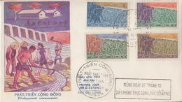 Enveloppe  FDC  1er  Jour   VIETNAM   Développement   Communautaire  1959 - Viêt-Nam