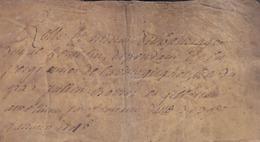 Bretagne - Janvier 1746 - Seigneurie De La Villegicquel / Baillage Duval / Pierre Gingal / G.Gaudin - Vieux Papiers