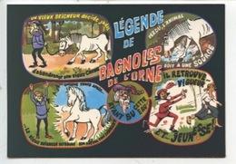 Légende De Bagnoles De L'Ornes - Humour Sir Hugues Ancien Seigneur De Tesse - Dessin R. Allouin - Fiabe, Racconti Popolari & Leggende