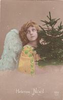 CPA  FILLETTE Ange  Grete REINWALD Joyeux Noel - Portraits