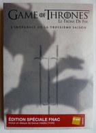 COFFRET DVD GAME OF TRONE LE TRONE DE FER SAISON 3 Neuf Sous Film Version Fnac 1h30 D'inédits - Séries Et Programmes TV