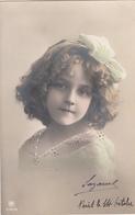 CPA  FILLETTE  Grete REINWALD   Détails Repeints - Portraits