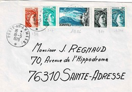 TP N° 1996 Avec Complément En Sabine Sur Enveloppe De La Poste Aux Armées - Marcophilie (Lettres)