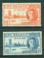 St Helena: 1946   Victory       MH - Saint Helena Island