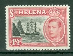St Helena: 1949   KGVI     SG150    1½d       MH - Saint Helena Island