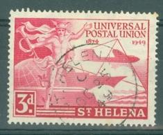 St Helena: 1949   U.P.U.    SG145   3d   Used - Saint Helena Island
