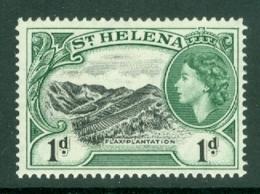 St Helena: 1953/59   QE II - Pictorial     SG154    1d       MH - Saint Helena Island
