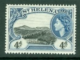 St Helena: 1953/59   QE II - Pictorial     SG159    4d       MNH - Saint Helena Island