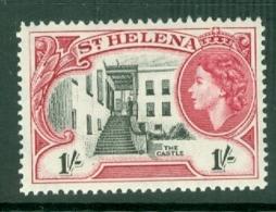 St Helena: 1953/59   QE II - Pictorial     SG162    1/-       MNH - Saint Helena Island