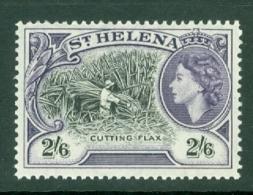 St Helena: 1953/59   QE II - Pictorial     SG163    2/6d       MNH - Saint Helena Island