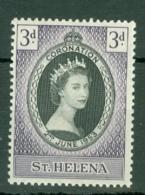 St Helena: 1953   Coronation      MH - Isola Di Sant'Elena