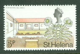 St Helena: 1971   QE II - Pictorial - Decimal Currency    SG268    5p       MNH - St. Helena