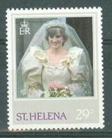 St Helena: 1982   Princess Of Wales Birthday   SG299a    29p  [Perf: 13½ X 14]    MH - Saint Helena Island