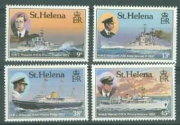 St Helena: 1987   Royal Visits To St Helena    MNH - Saint Helena Island