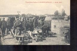 Knokke - Ramscapelle - Guerre - 1917 - Knokke