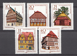Allemagne DDR 1978  Mi.nr.: 2294-2298 Fachwerkbauten  Neuf Sans Charniere /MNH / Postfris - [6] République Démocratique