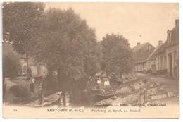 Cpa...Saint-Omer...(P.-deC.)...faubourg De Lyzel...le Roiesof...animée...1918... - Saint Omer