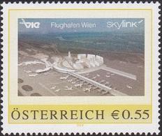 Flughafen Wien - Skylink, Pers. Briefmarke - Bogennummer 8001948** - Österreich