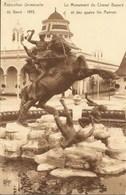 GAND-GENT - Exposition Universelle De 1913 - Le Monument Du Cheval Bayard Et Des 4 Fils Aymon - Gent